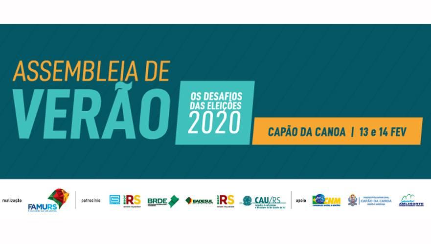Assembleia de Verão da Famurs irá debater os desafios das eleições municipais