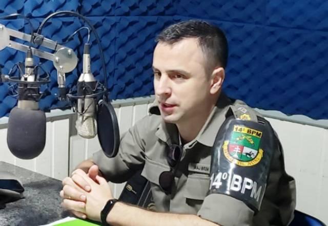Comandante do 14º BPM diz que BM é parceira para fiscalizações e solicita que necessidade de apoio seja comunicada com antecedência
