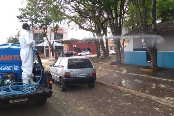 Prefeitura realiza nova sanitização em Santo Antônio das Missões