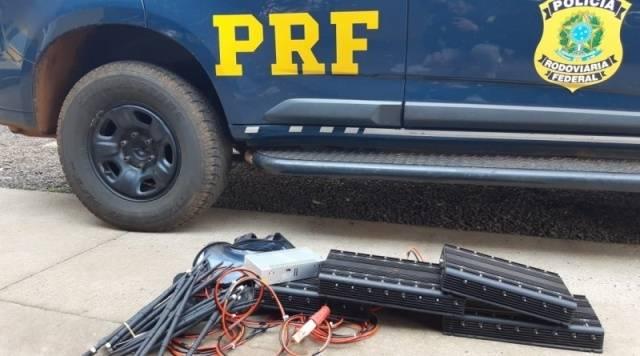 PRF prende dois homens por porte ilegal de arma e associação criminosa em São Borja