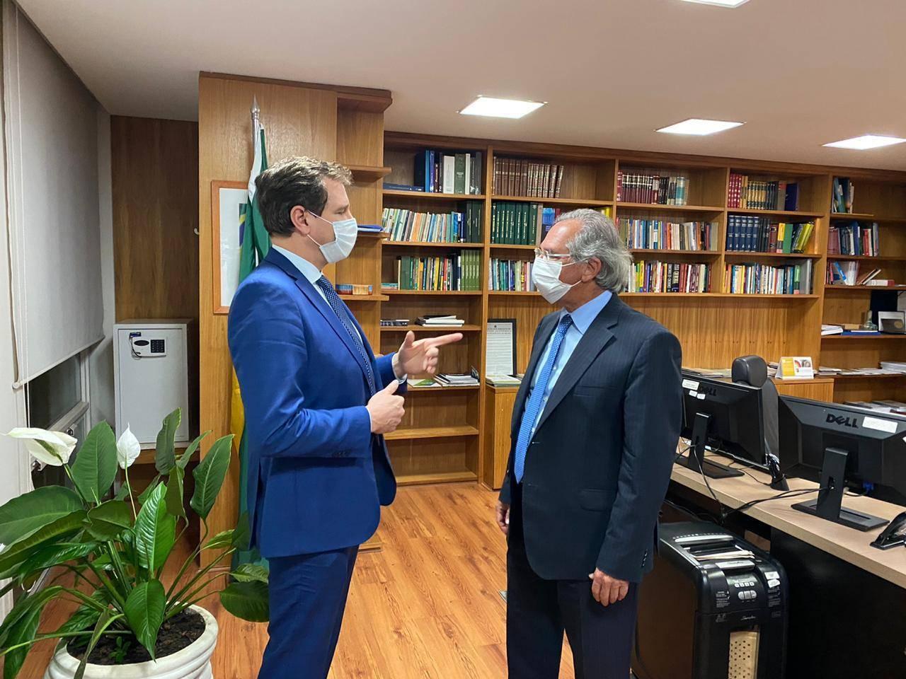 Presidente da Assembleia Ernani Polo cumpriu intensa agenda em Brasília