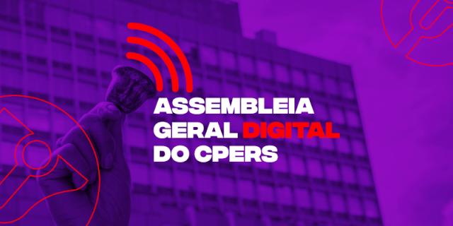 CPERS vai promover Assembleia Geral Extraordinária de forma virtual para discutir o reinício das aulas