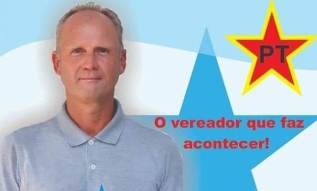 Vereador Roni Bolter(PT) eleito em Dezesseis de Novembro que buscar recursos em benefício do município e região