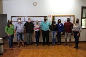 Garruchos realiza a primeira reunião do secretariado