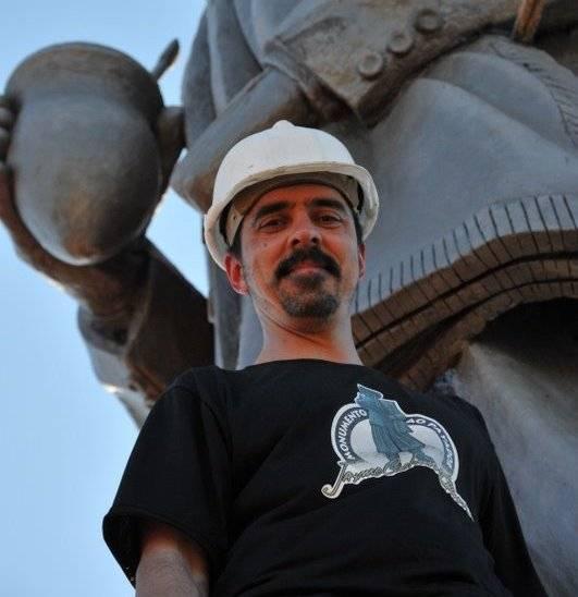 Monumento de Jayme Caetano Braun receberá restauro