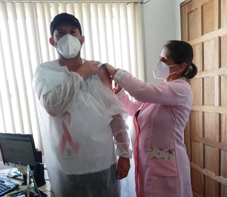 Vacinas contra a covid-19 foram aplicadas somente em profissionais da saúde de Garruchos