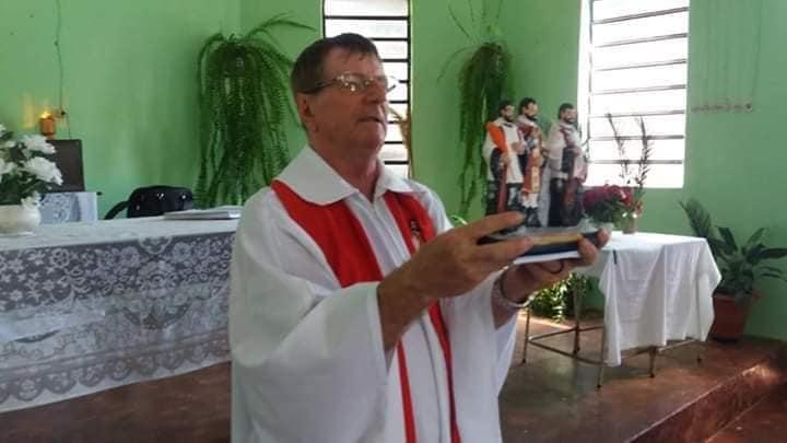 Vítima de acidente de trânsito, padre Eugênio Hartmann morre aos 66 anos