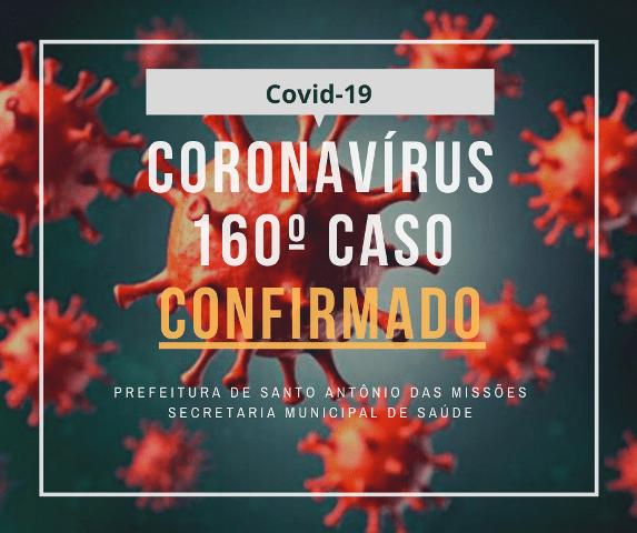 Saúde confirma mais três casos de coronavírus em Santo Antônio das Missões