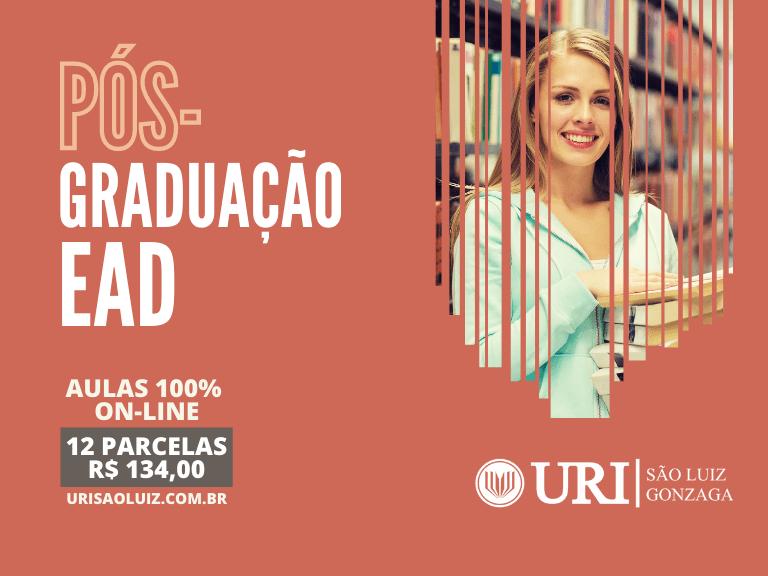 URI – São Luiz Gonzaga lança seis novos cursos de pós-graduação EAD