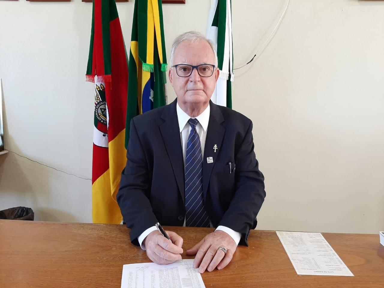 Prefeito de Bossoroca fala sobre a situação da pandemia no município
