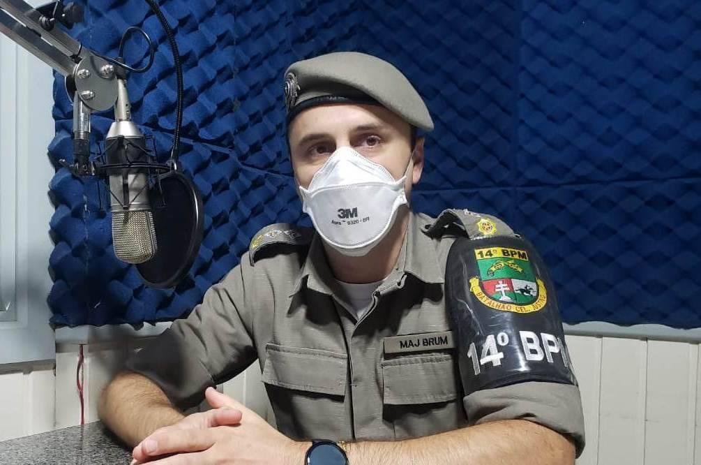 14º BPM conclui a primeira etapa de vacinação de todos os policiais militares contra a covid-19