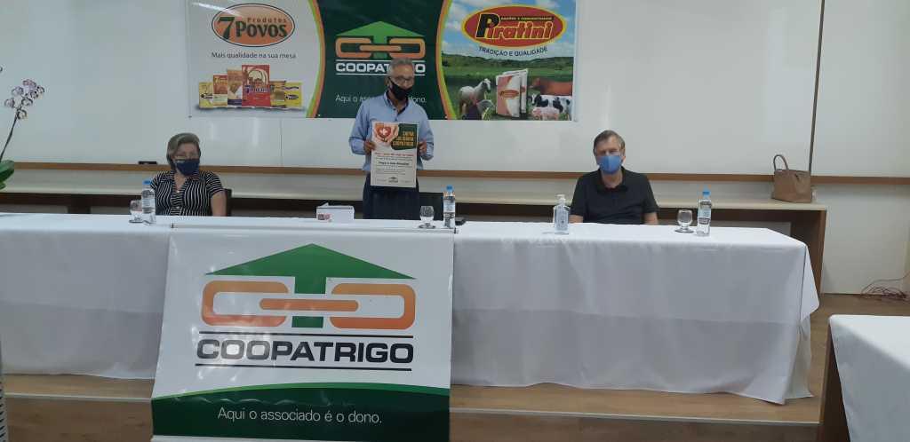 """Coopatrigo lança campanha """"Safra Solidária, Soja é Saúde, Saúde é Vida"""""""