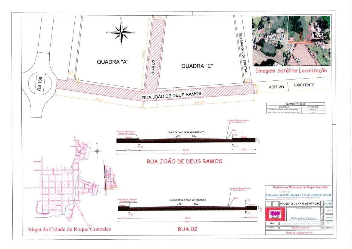 Aberto edital de licitação para obras de calçamento no Distrito Industrial de Roque Gonzales
