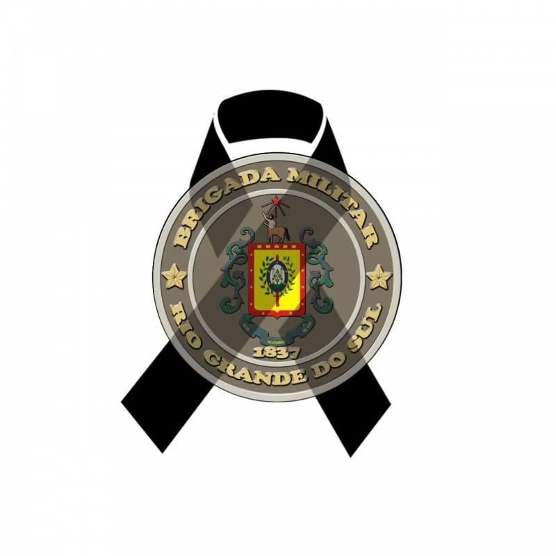 Nota de pesar foi divulgada pela Brigada Militar