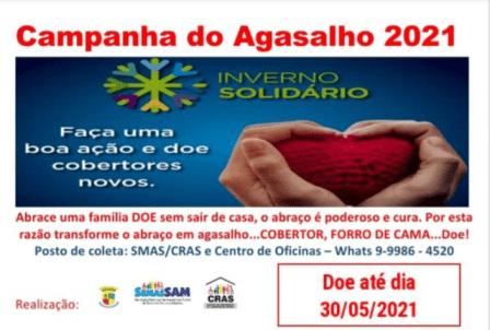 Santo Antônio das Missões: Inscrições abertas para interessados que querem receber cobertores da Campanha do Agasalho