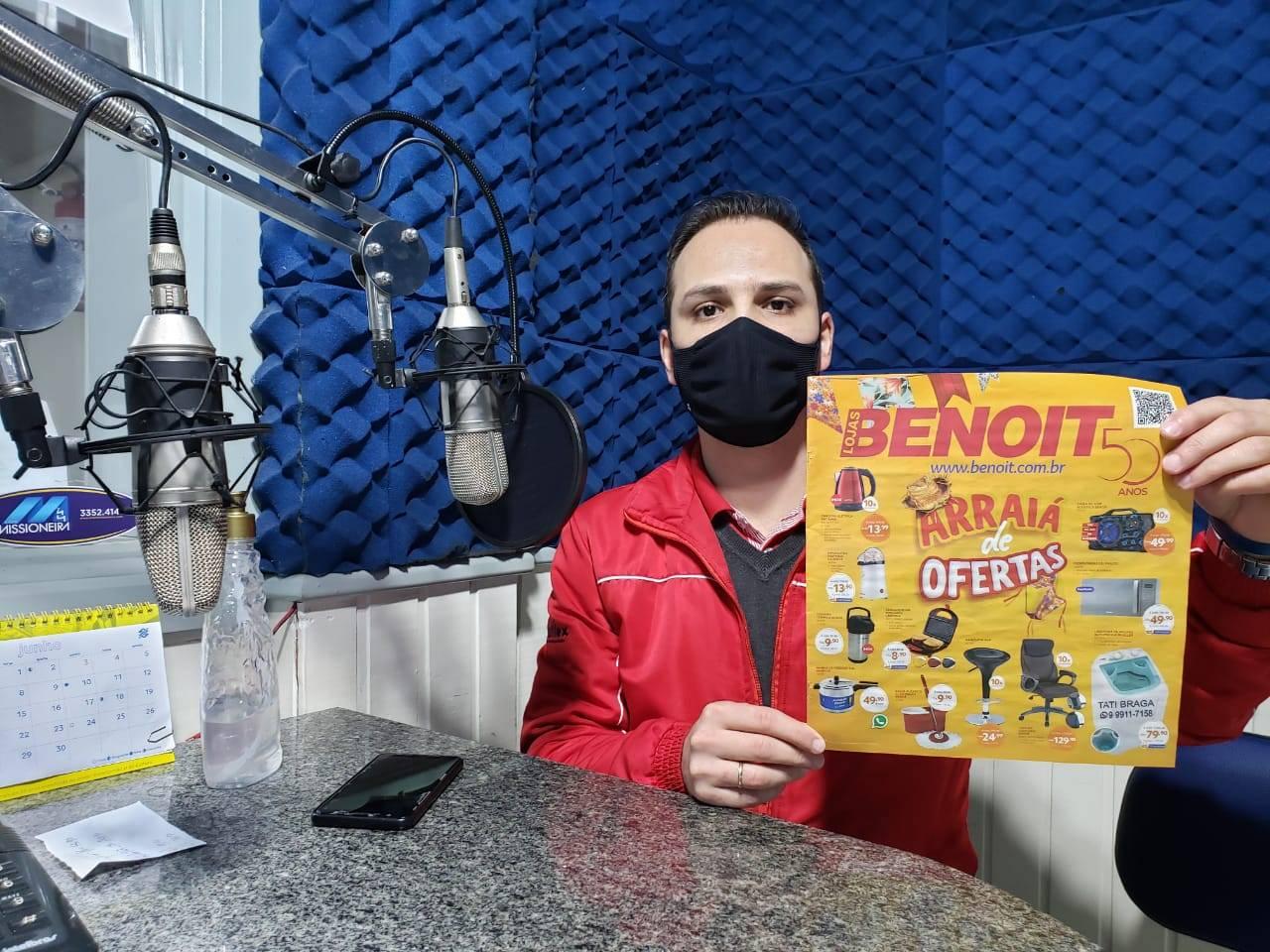 Seguem as promoções do Arraiá de Ofertas da Benoit