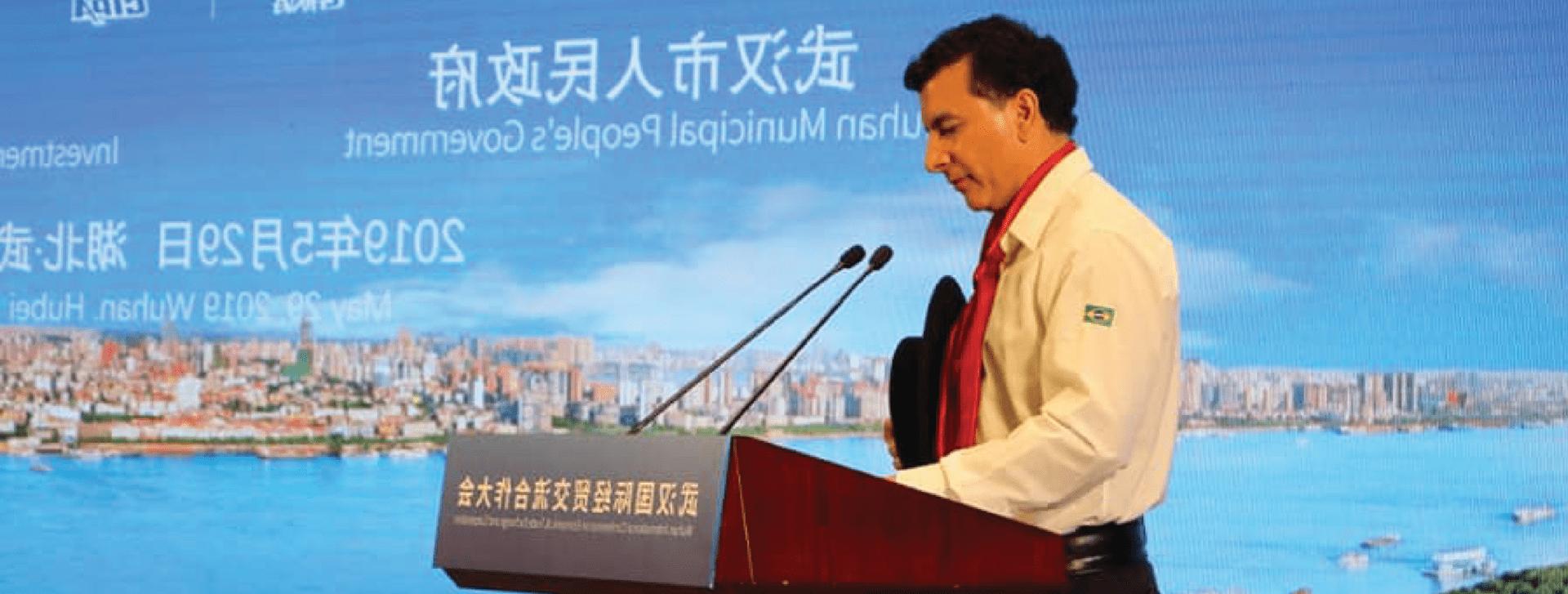 Deputado Jeferson Fernandes fala da importância da relação entre Rio Grande do Sul e China