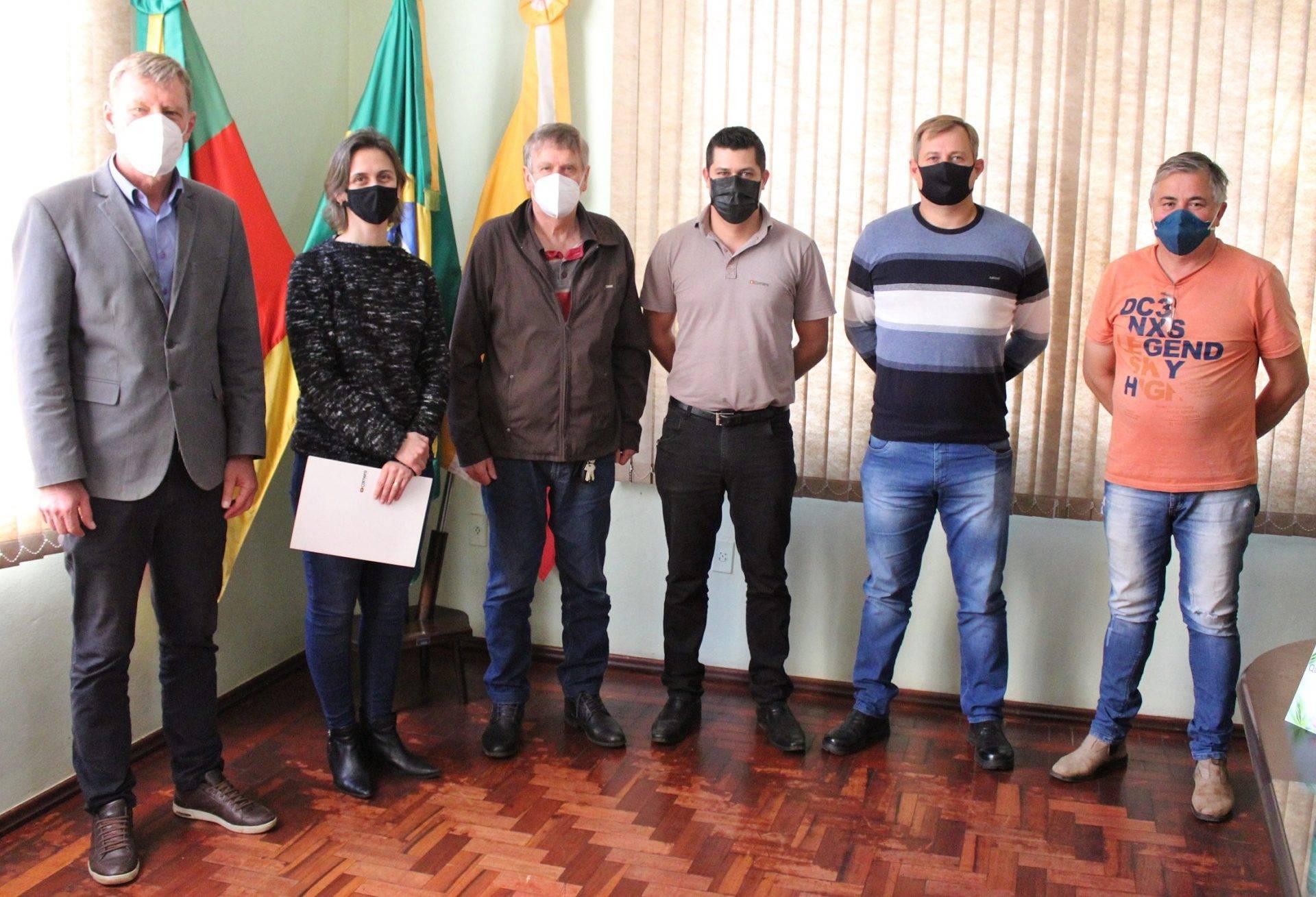 Prefeitura de São Luiz Gonzaga busca firmar parceria para o descarte de galhos