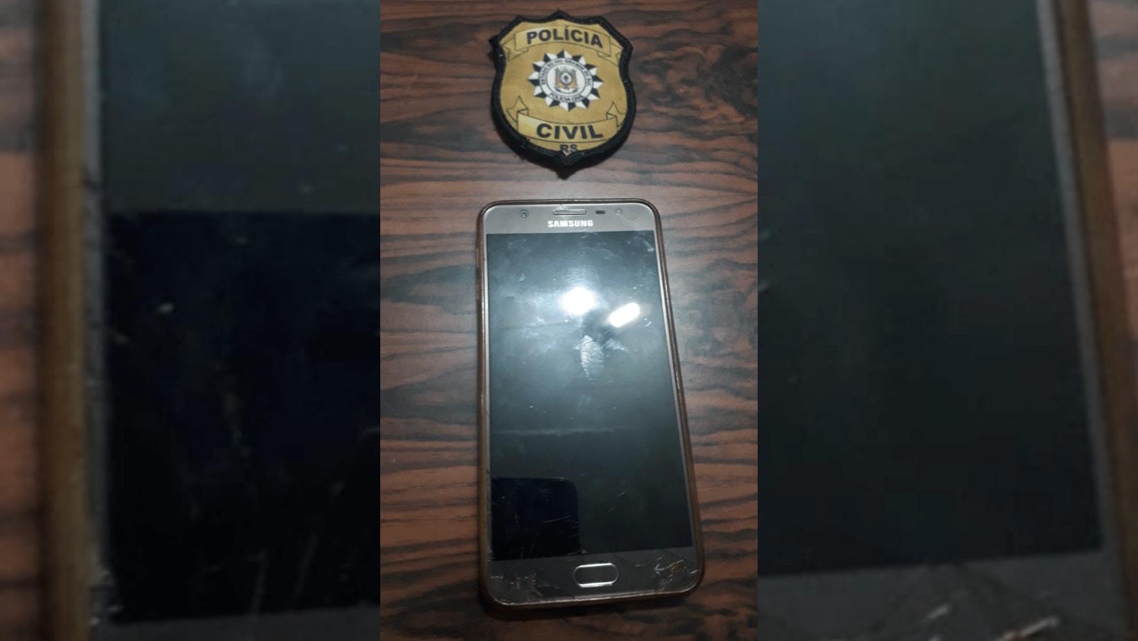 Polícia Civil recupera celular em Rolador que constava como perdido