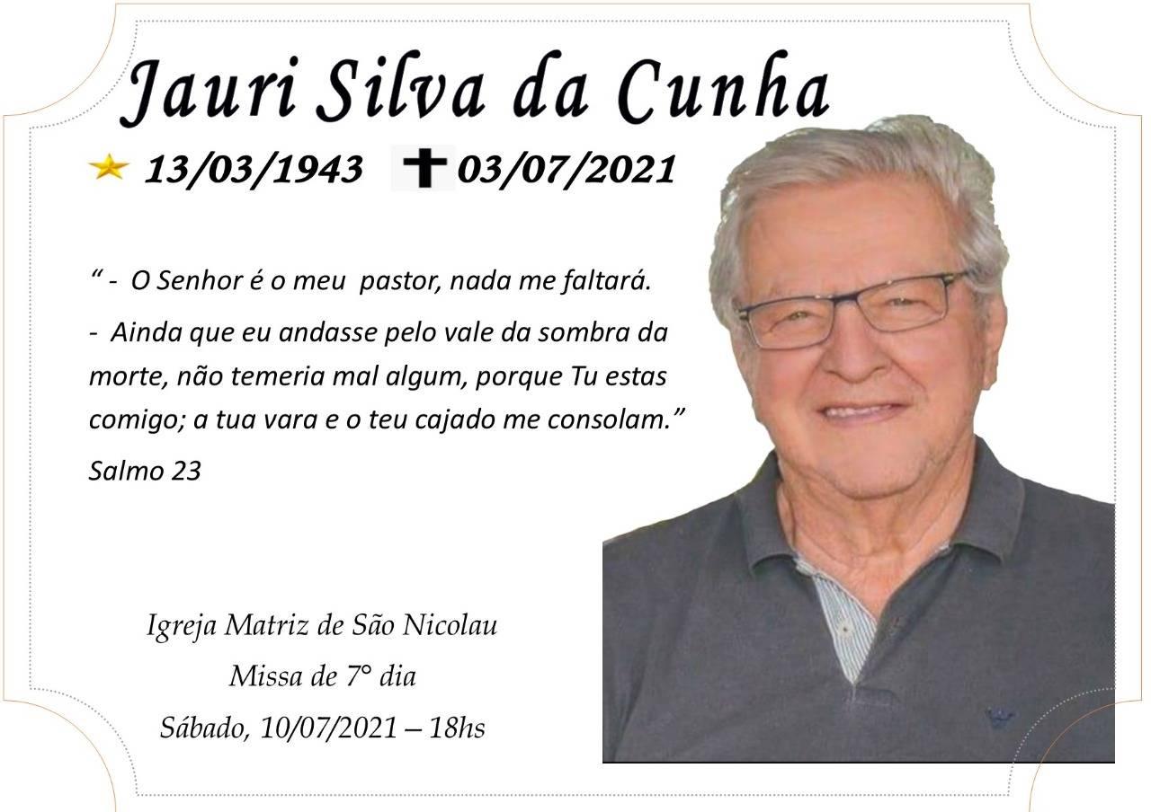 Missa de sétimo dia em memória de Jauri Cunha, ex-prefeito de São Nicolau, será realizada neste sábado