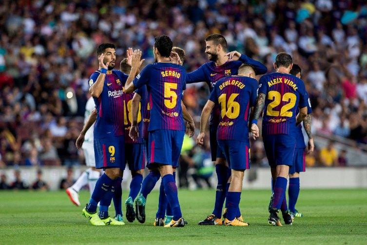 Barcelona derrotó por 2 - 0 al Espanyol
