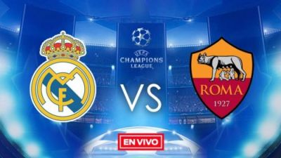 Real Madrid vs Roma en vivo online