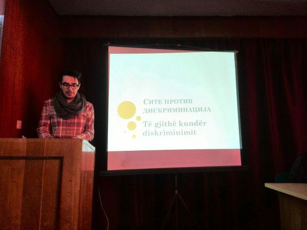 """""""Овој дом верува дека дискриминацијата го уништува соживотот"""" - дебата во Дебар"""
