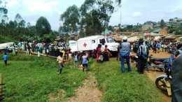 Image de l'accident à Vusenzera