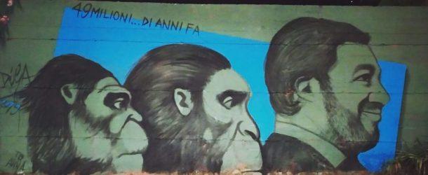 Il murales cancellato a Baronissi