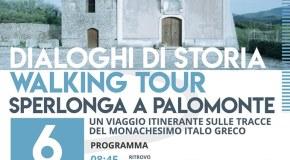 A Palomonte la tappa del Walking Tour