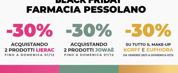 Black Friday alla Farmacia Pessolano