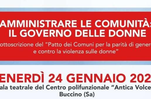 Il governo delle donne: le sindache salernitane si confrontano a Buccino