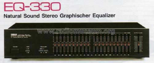 Natural Sound Graphic Equalizer EQ-330 Misc Yamaha Co.;
