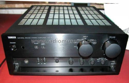 Natural Sound Stereo Amplifier AX-10 Ampl/Mixer Yamaha Co.;