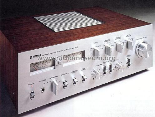 Natural Sound Stereo Amplifier CA-1010 Ampl/Mixer Yamaha Co.