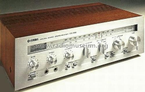 Natural Sound Stereo Receiver CR-420 Radio Yamaha Co.;