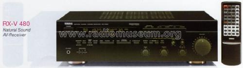 Natural Sound Stereo Receiver RX-V480 Radio Yamaha Co.;