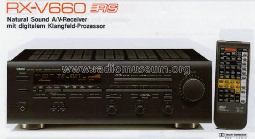Natural Sound UKW/MW Stereo Receiver RX-V660 Radio Yamaha Co