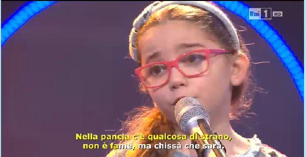 Greta Cacciolo Vince Lo Zecchino Doro Con Prendi Un