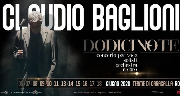 Terme Di Caracalla Calendario 2021 Biglietti Claudio Baglioni   Concerti 2021   Scaletta