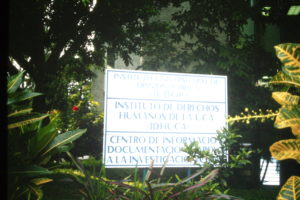 Institute of Human Rights of the University of Central America