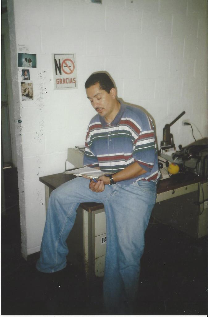 Sigfredo Rivera, general director of Homies Unidos