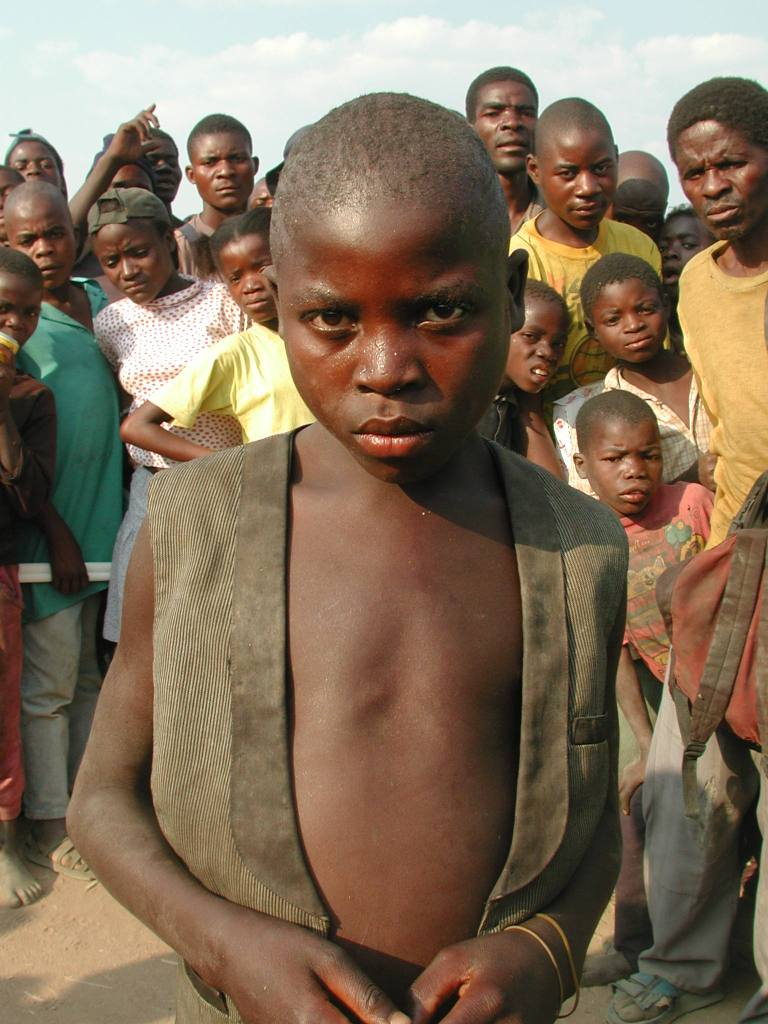 Young boy in search of his family