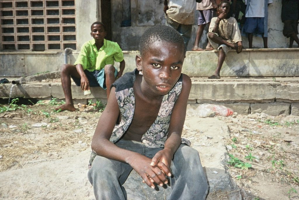 Boy in Luanda