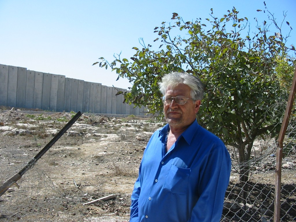 Dr Sami Ass'ad used to have over 100 trees in his backyard