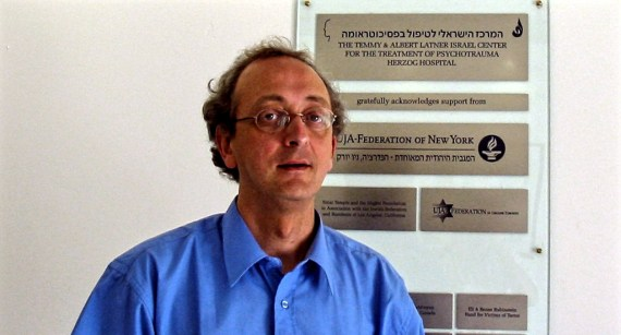Dr. Danny Brom, director of the Israel Centre for the Treatment of Psychotrauma in Jerusalem