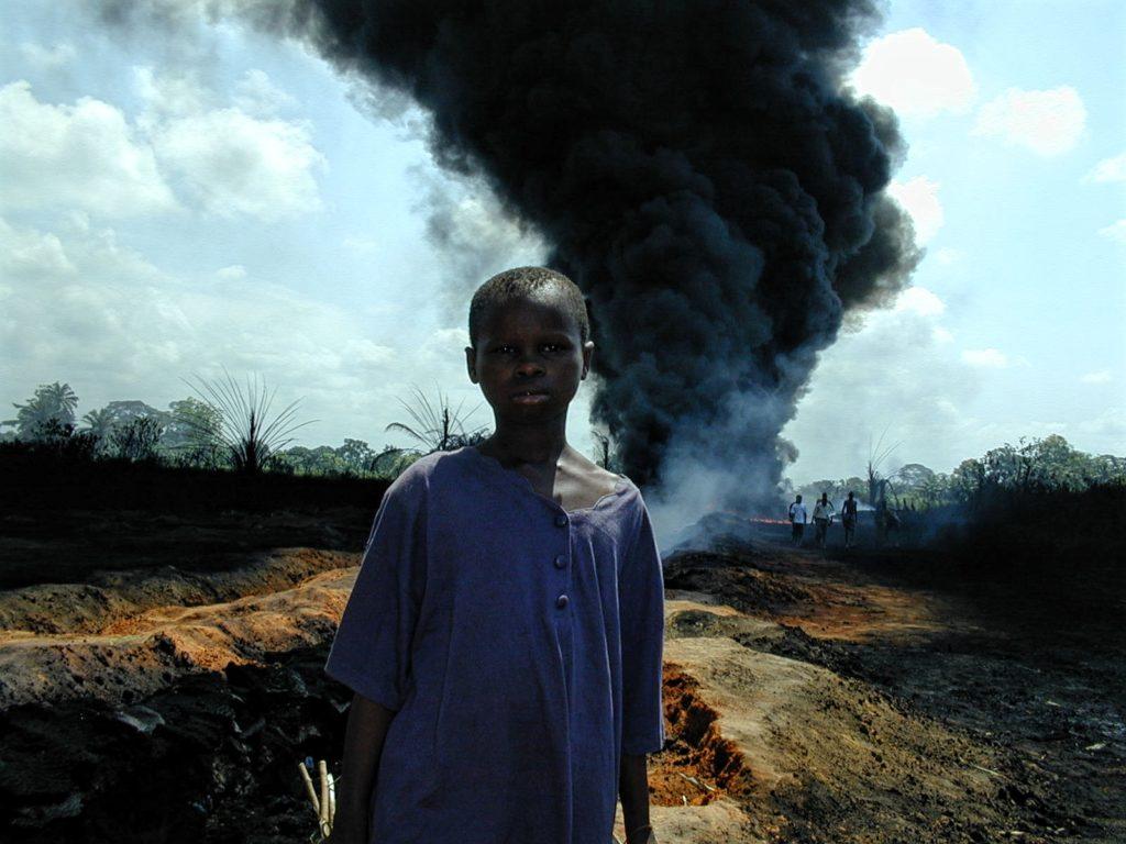 Oil pipeline explosion in Ogoniland