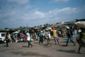 Roque Santeiro, informal market in Luanda
