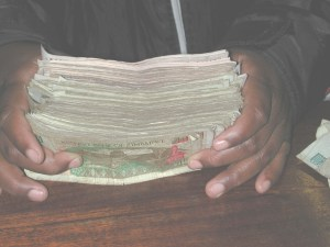 Hyperinflation is making the Zim dollar worthless