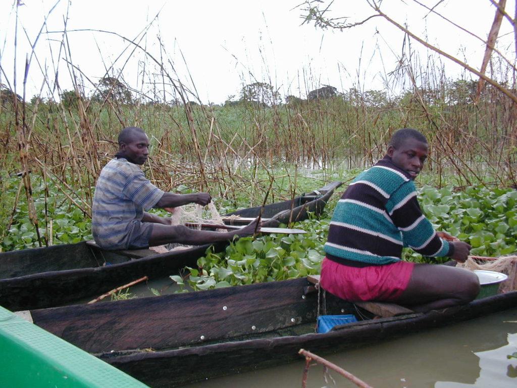Fishermen in Ekoli Creek